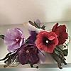 Papiergarn Blumen Arrangement